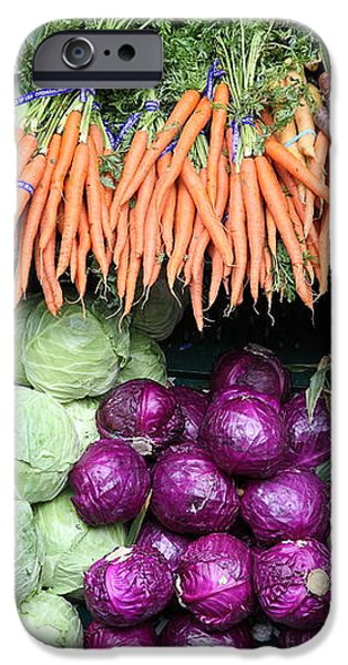 Variety of Fresh Vegetables - 5D17910 iPhone Case by Wingsdomain Art and Photography
