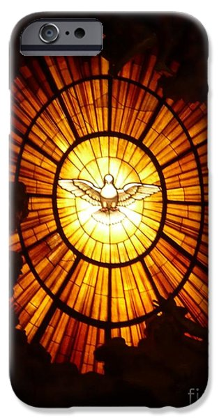 Religious iPhone Cases - Vatican Window iPhone Case by Carol Groenen