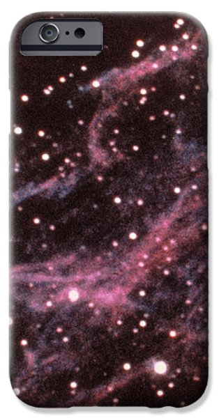 Veil Nebula In Cygnus iPhone Case by USNO / Science Source