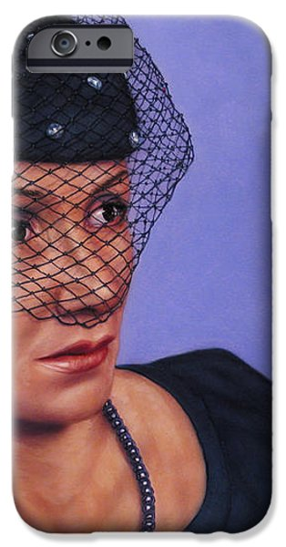 Veiled iPhone Case by James W Johnson