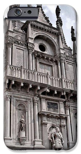 Venetian Architecture IV iPhone Case by Ellen Heaverlo