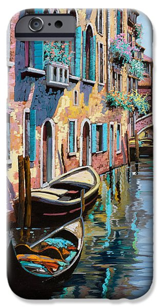 venezia in rosa iPhone Case by Guido Borelli