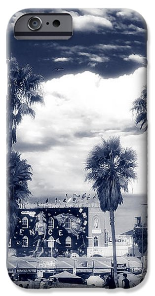 Venice Beach Haze iPhone Case by John Rizzuto