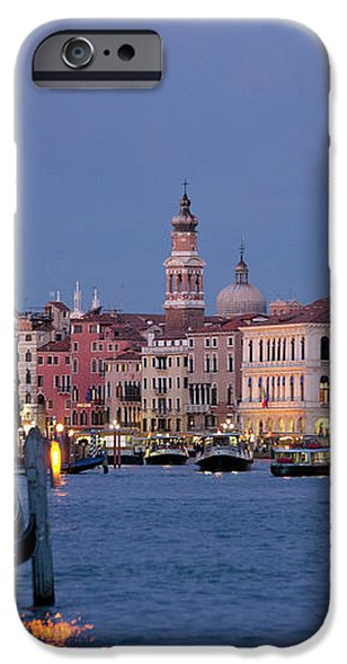 Venice Blue Hour 2 iPhone Case by Heiko Koehrer-Wagner