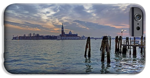 San Marco iPhone Cases - Venice San Giorgio Maggiore iPhone Case by Joana Kruse