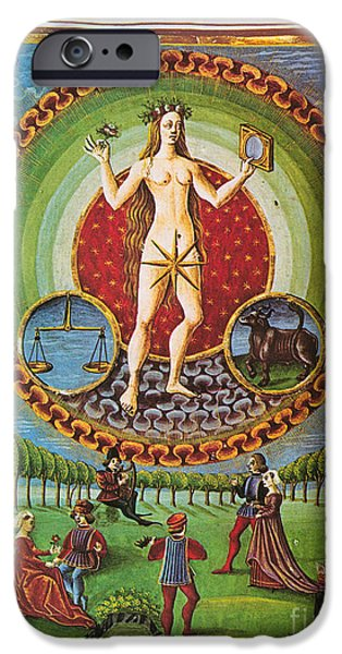 Venus Ruler Of Taurus And Libra iPhone Case by Photo Researchers