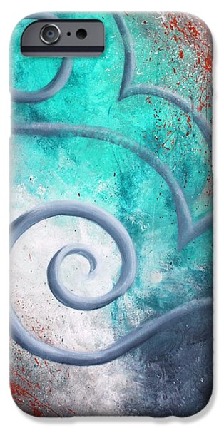 Eternal Inspirational iPhone Cases - Venus Sky iPhone Case by Reina Cottier