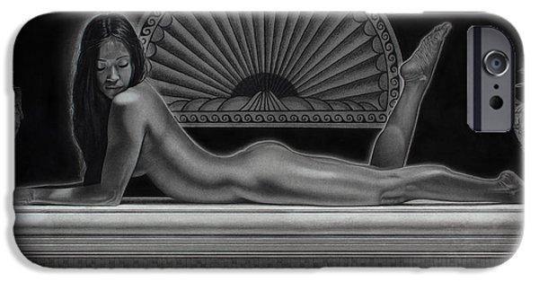 Illustrator iPhone Cases - Venus iPhone Case by Tim Dangaran