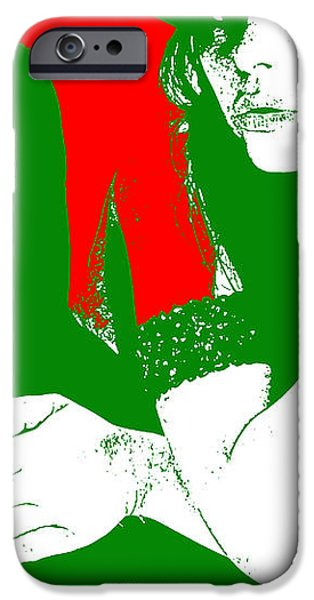 Vera iPhone Case by Naxart Studio