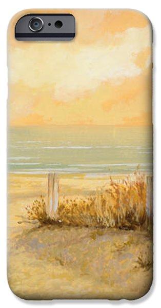verso la spiaggia iPhone Case by Guido Borelli