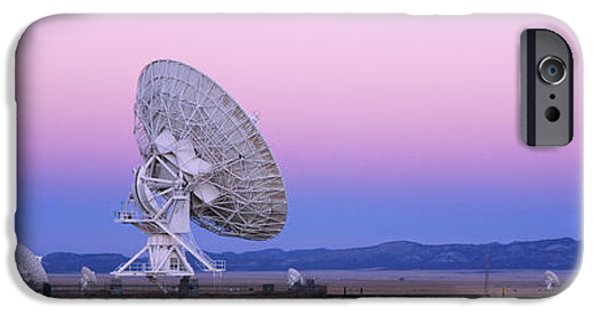 Electronic iPhone Cases - Very Large Array Radio Telescope iPhone Case by Jeremy Woodhouse