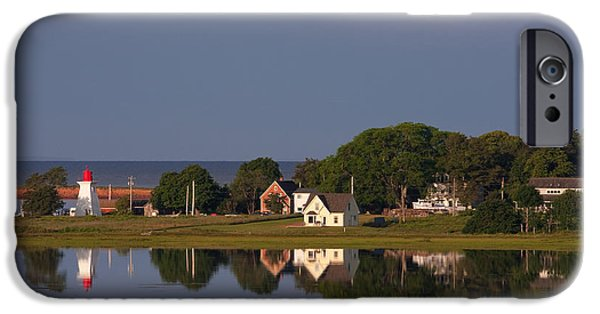 East Village iPhone Cases - Victoria, Prince Edward Island iPhone Case by John Sylvester