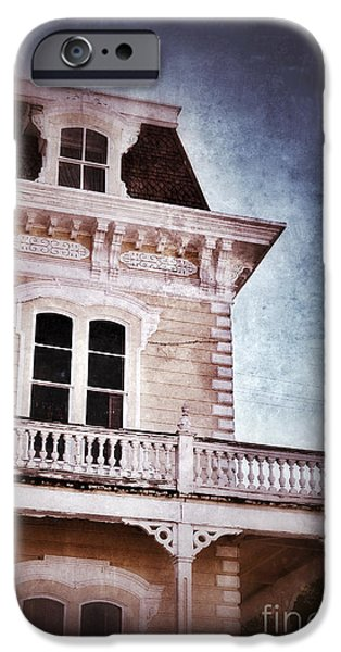 Victorian House iPhone Case by Jill Battaglia