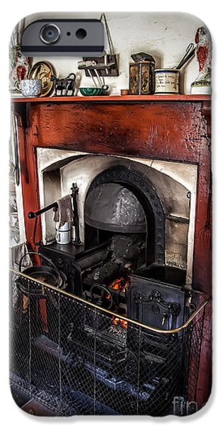 Stove iPhone Cases - Victorian Range iPhone Case by Adrian Evans