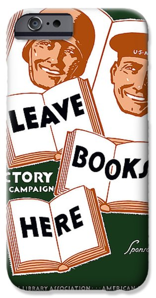 Recently Sold -  - Ww1 iPhone Cases - Victory Book Campaign iPhone Case by War Is Hell Store