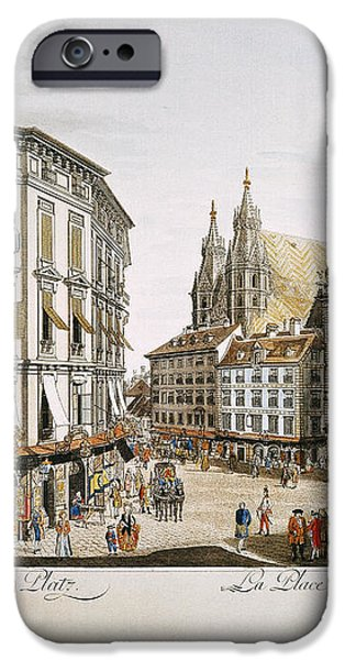 VIENNA, 1779 iPhone Case by Granger