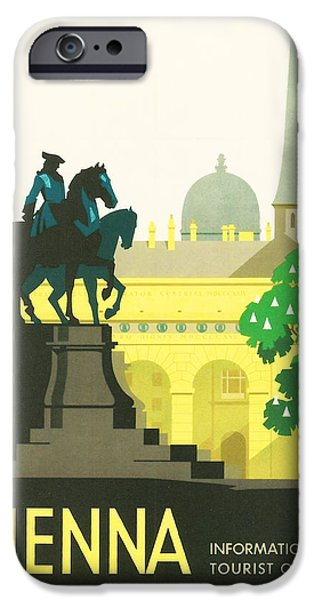 Vienna iPhone Case by Nomad Art And  Design