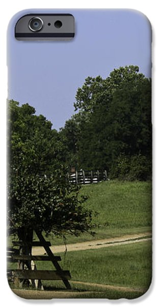 View of Appomattox Courthouse 1 iPhone Case by Teresa Mucha