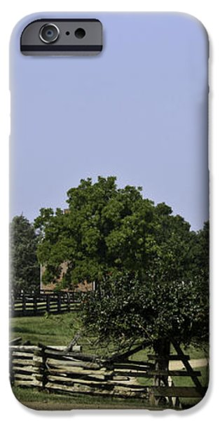 View of Appomattox Courthouse 2 iPhone Case by Teresa Mucha