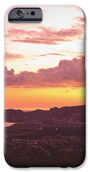 View Of Cabo San Lucas And Tip Of Baja iPhone Case by Stuart Westmorland