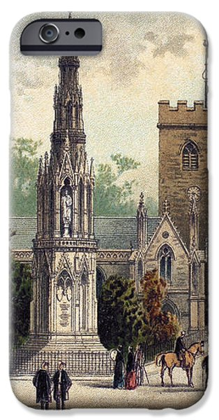 VIEW OF OXFORD, c1885 iPhone Case by Granger