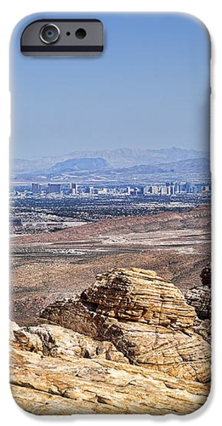 View of Vegas iPhone Case by Kelley King