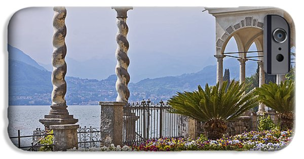 Seductive Photographs iPhone Cases - Villa Monastero - Varenna - Lago di Como iPhone Case by Joana Kruse
