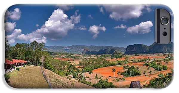 Historic Site iPhone Cases - Vinales Valley. Pinar del Rio. Cuba iPhone Case by Juan Carlos Ferro Duque