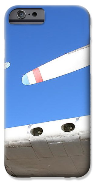 Vintage BOAC British Overseas Airways Corporation Speedbird Flying Boat . 7D11260 iPhone Case by Wingsdomain Art and Photography