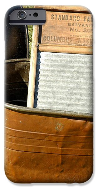 Vintage Copper Wash Tub iPhone Case by LeeAnn McLaneGoetz McLaneGoetzStudioLLCcom