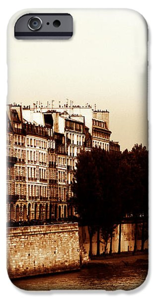 Vintage Paris 5 iPhone Case by Andrew Fare