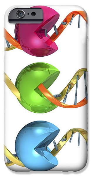 Viral Rna Replication Cycle, Artwork iPhone Case by Laguna Design
