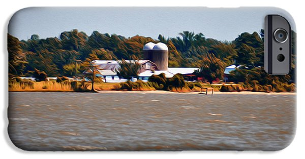 Yorktown Virginia iPhone Cases - Virginia Farm iPhone Case by Bill Cannon