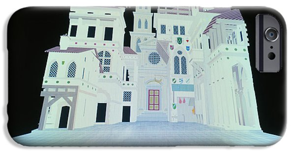 Virtual iPhone Cases - Virtual Reality Model Of Renaissance Theatre Stage iPhone Case by Vaughan Hartuniv Of Bath Volker Steger
