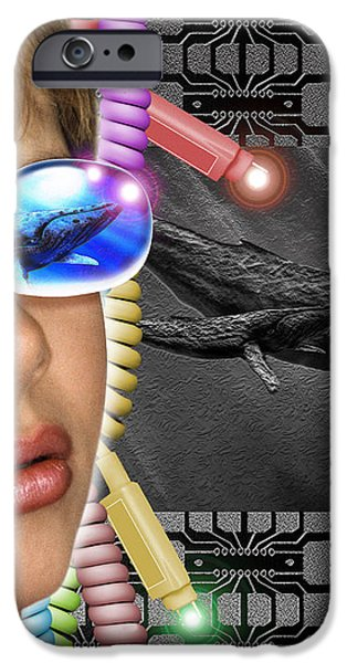 Virtual Reality iPhone Case by Victor Habbick Visions