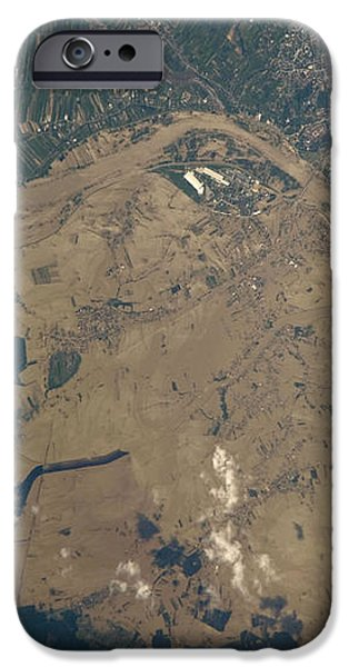 Vistula River Flooding, Southeastern iPhone Case by NASA/Science Source