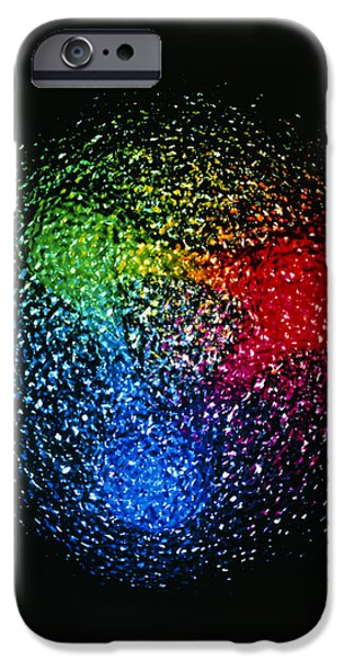 Virtual iPhone Cases - Visualisation Of Quark Structure Of Proton iPhone Case by Arscimed