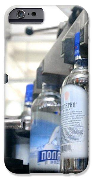 Vodka Bottling Machine iPhone Case by Ria Novosti