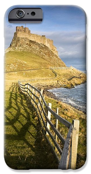 Volcanic Mound Called Beblowe Craig iPhone Case by John Short