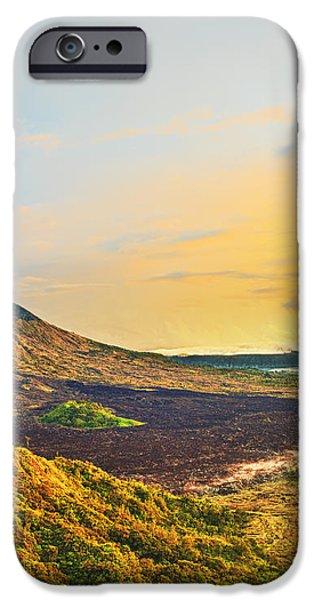 Volcano Batur iPhone Case by MotHaiBaPhoto Prints