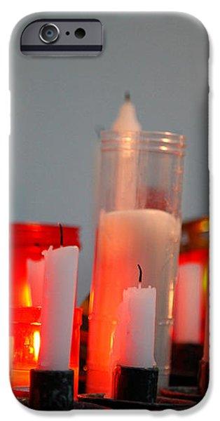 Votive candles iPhone Case by Gaspar Avila