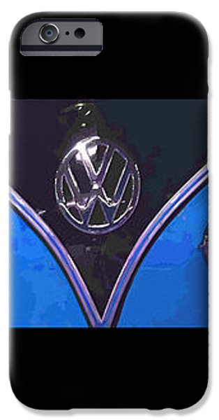 VW Triptych 2 iPhone Case by Cheryl Young