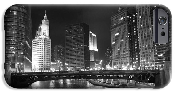 Wrigley iPhone Cases - Wabash Bridge iPhone Case by Lauri Novak