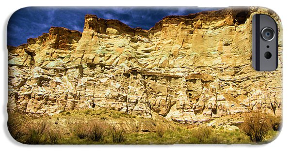Wahweap iPhone Cases - Wahweap Cliff iPhone Case by Adam Jewell