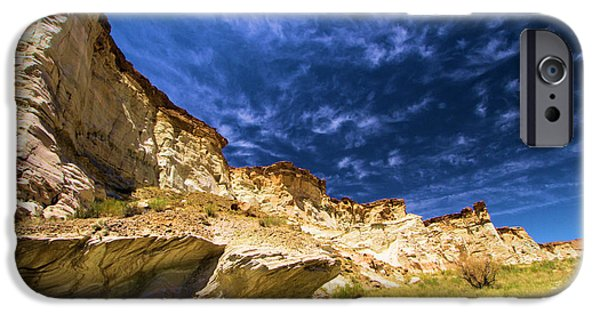 Wahweap iPhone Cases - Wahweap Hoodoo Trail iPhone Case by Adam Jewell