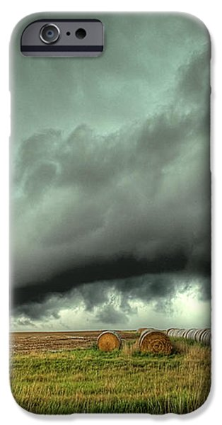 Wall Cloud iPhone Case by Thomas Zimmerman