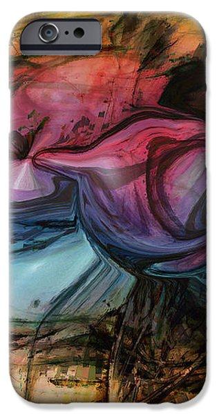Wandering Star iPhone Case by Linda Sannuti