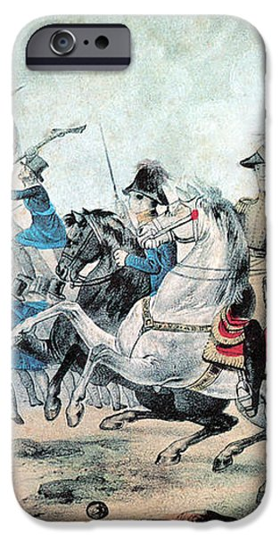 War Of 1812 Battle Of New Orleans 1815 iPhone Case by Photo Researchers