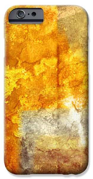 Warm Abstract iPhone Case by Brett Pfister