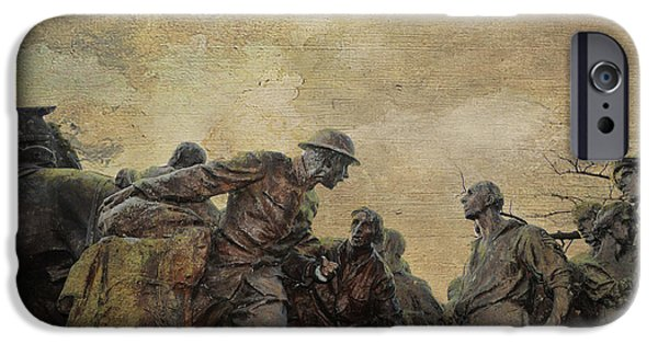Wwi iPhone Cases - Wars of America iPhone Case by Paul Ward